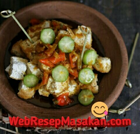 Tahu gejrot cirebon, Resep Tahu Gejrot Cirebon,