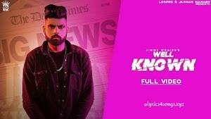 WELL KNOWN LYRICS –  Jimmy Wraich  | Punjabi Song