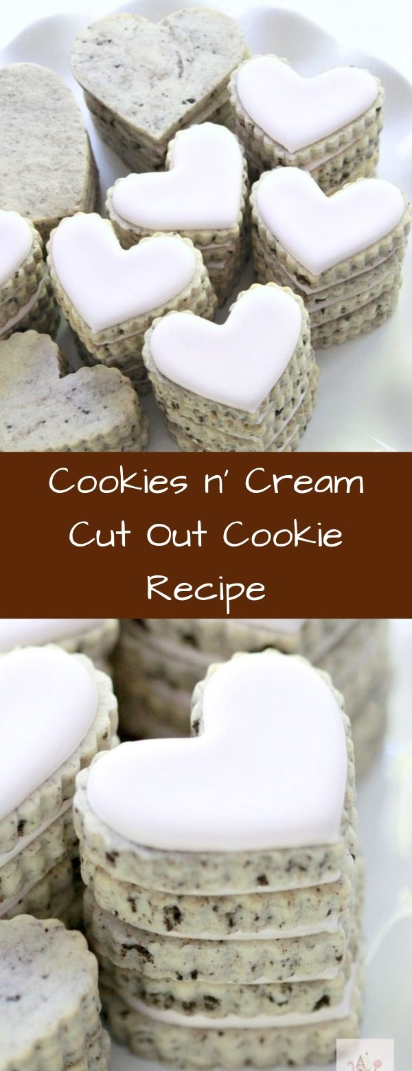 Cookies n' Cream Cut Out Cookie Recipe