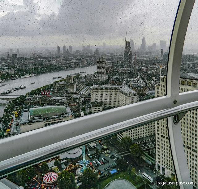 Londres vista do alto do London Eye