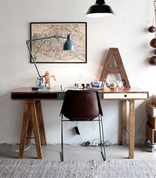 mesa para el estudio