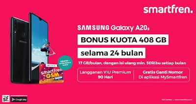 Promo Bundling Samsung A20s Smartfren