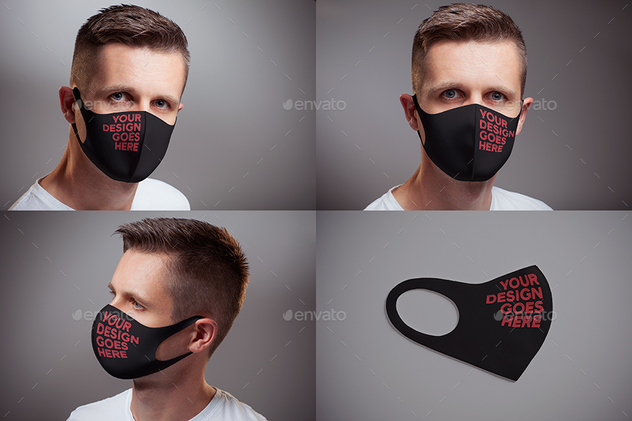 05 Preview 5 Face Mask Mock up