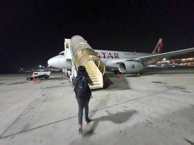 Como é voar com a Qatar Airways