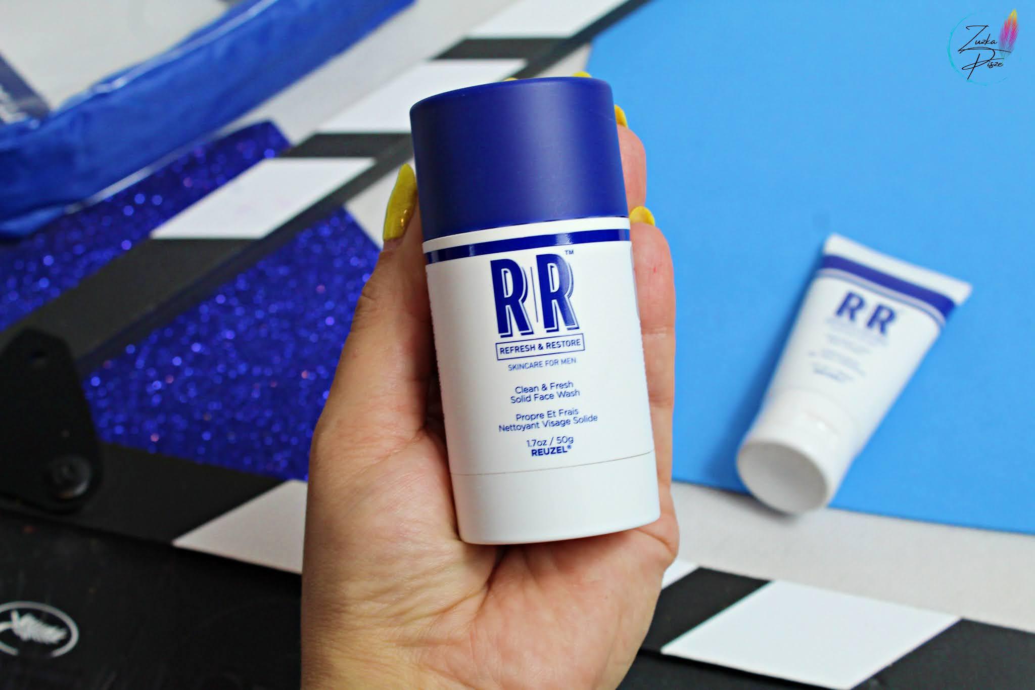 Sztyft do mycia twarzy dla mężczyzn Reuzel RR Clean and Fresh Solid Face Wash Stick