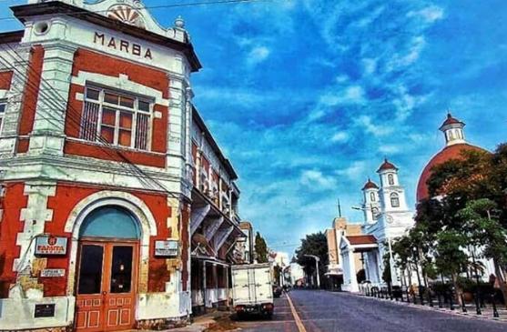 tempat wisata Kota Lama Semarang Semarang
