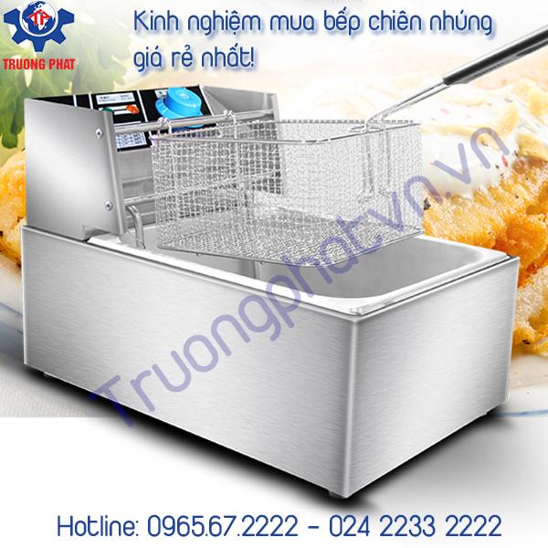 Mua bếp chiên đơn giá rẻ ở Hà Nội