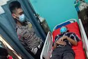 Kecelakaan Motor vs Motor di Melawi, Satu Orang di Larikan ke Rumah Sakit
