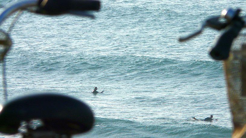 olas en la playa de Sopelana