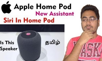Apple Home Pod | Speaker Connected With Siri Assistant | Tamil – Master Technical