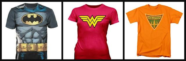 dc comics shirts