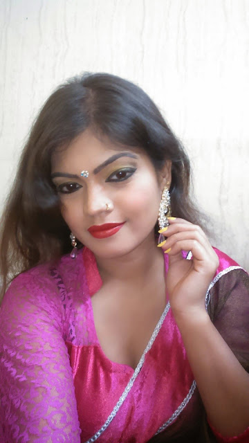 Bhojpuri Singer & Actress Nisha Ji in Pink Dress Images