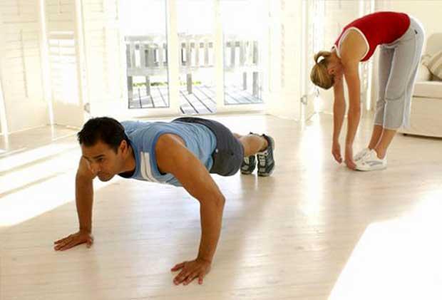 Olahraga Ringan di Rumah, Coba Gerakan Ini