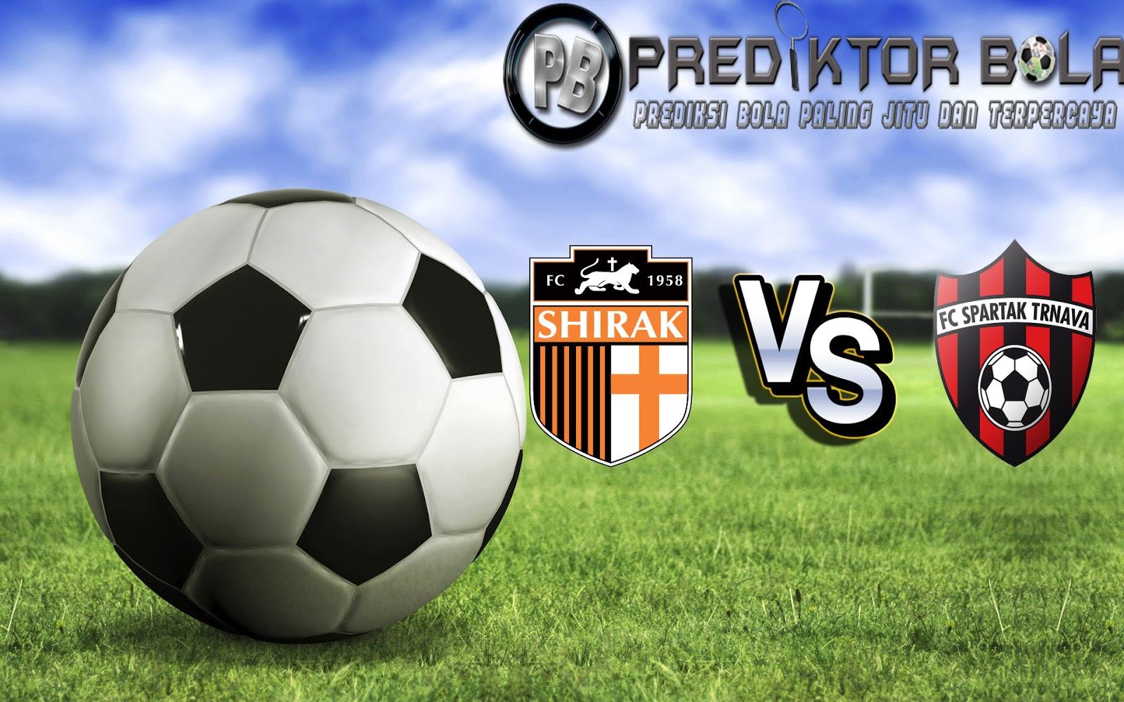 Prediksi Shirak vs Spartak Trnava 14 Juli 2016
