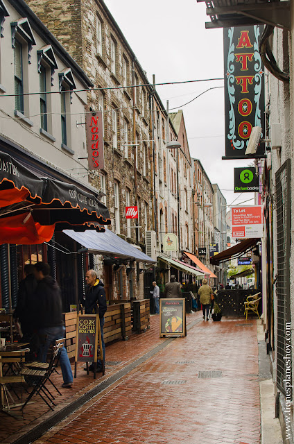 Calles Cork Irlanda