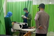 Tabrak Pohon, Pengendara Pemotor di Padamara Dilarikan ke Rumah Sakit