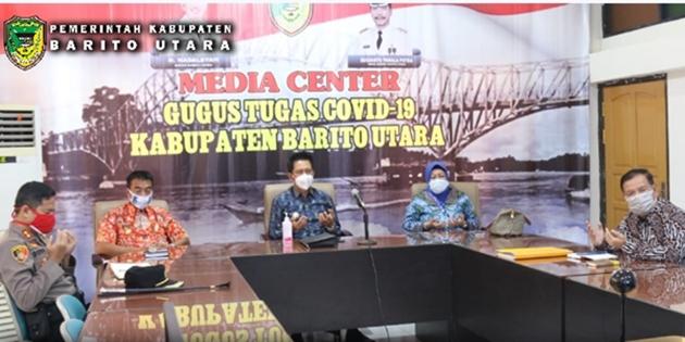 Sebanyak 4.287 KK Di Barito Utara Terima Bantuan Terdampak Covid- 19