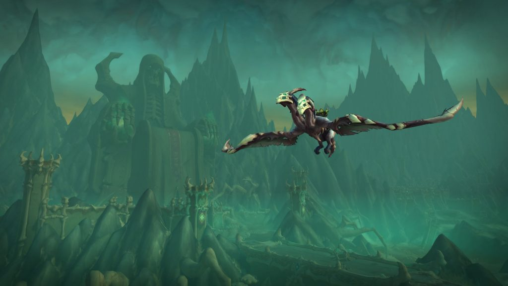 Flying comes in Patch 9.1 - finally take off in the Shadowlands!