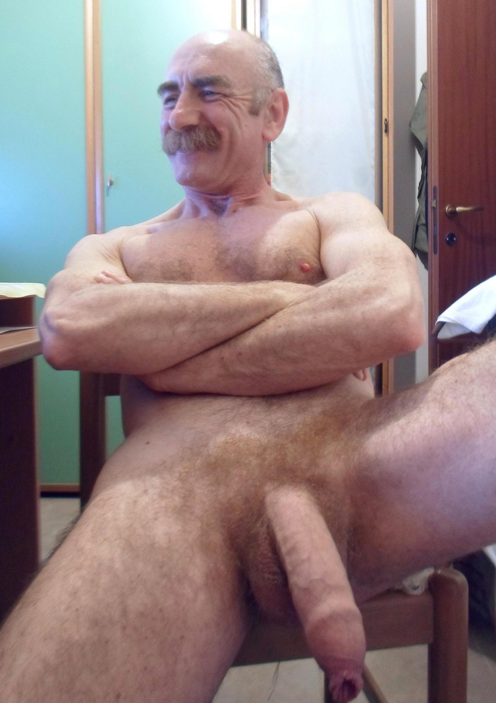 cock Gay hairy daddy