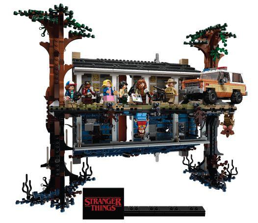 Конструктор для взрослых Lego Stranger Things The Upside Down