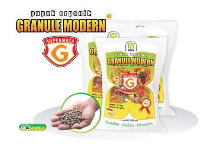 """pupuk organik supernasa granule natural nusantara kemasan 10 kg starter kesuburan"""