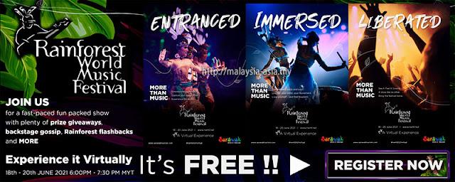 Rainforest World Music Virtual Experience 2021