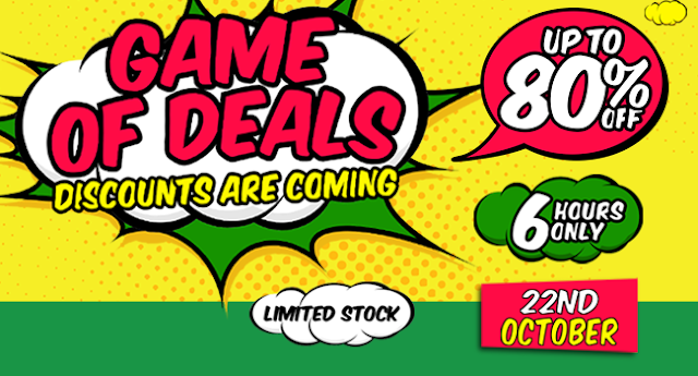Jumia Game Of Deal Tomorrow Up to 80% Off