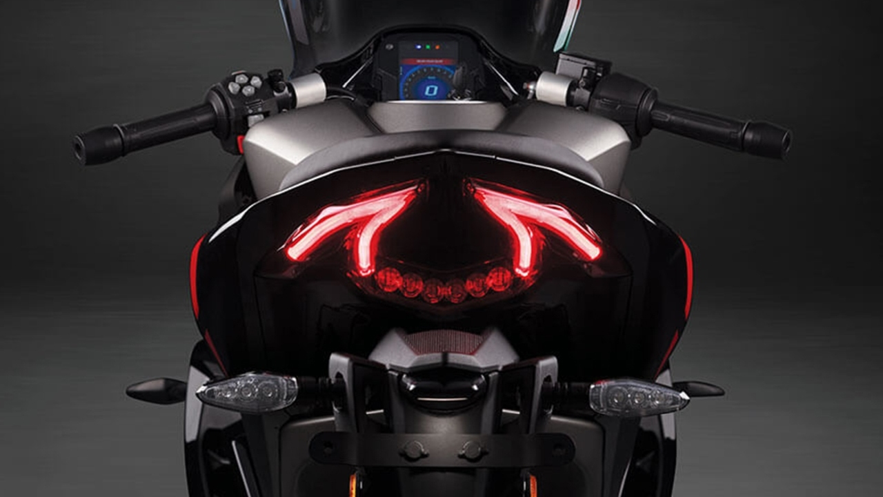 omega shape LED tail light automation bio
