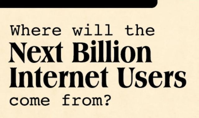 From Where Will the Upcoming Billion Internet Users Be?