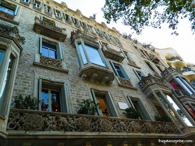 Casa Casas-Carbó, Passeig de Gràcia, Barcelona