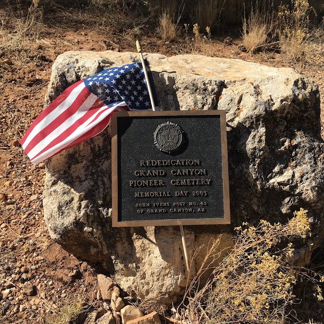 the historic Pioneer Cemetery at Grand Canyon National Park