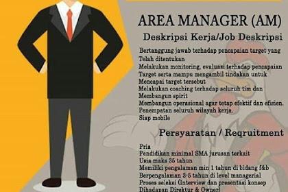 Info Lowongan Kerja Area Manager Geprek Si Boss Jakarta
