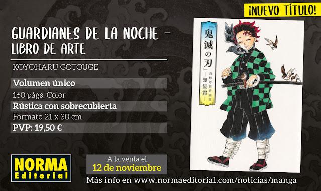 Norma Editorial licencia más productos de Kimetsu no Yaiba: Historias Extra, Libro de Arte y Libros para Colorerar.