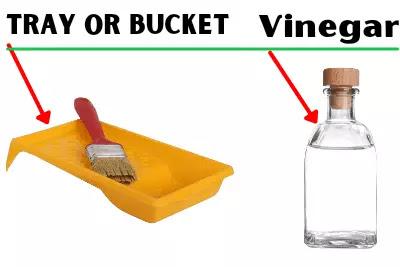 remove rust with white vinegar