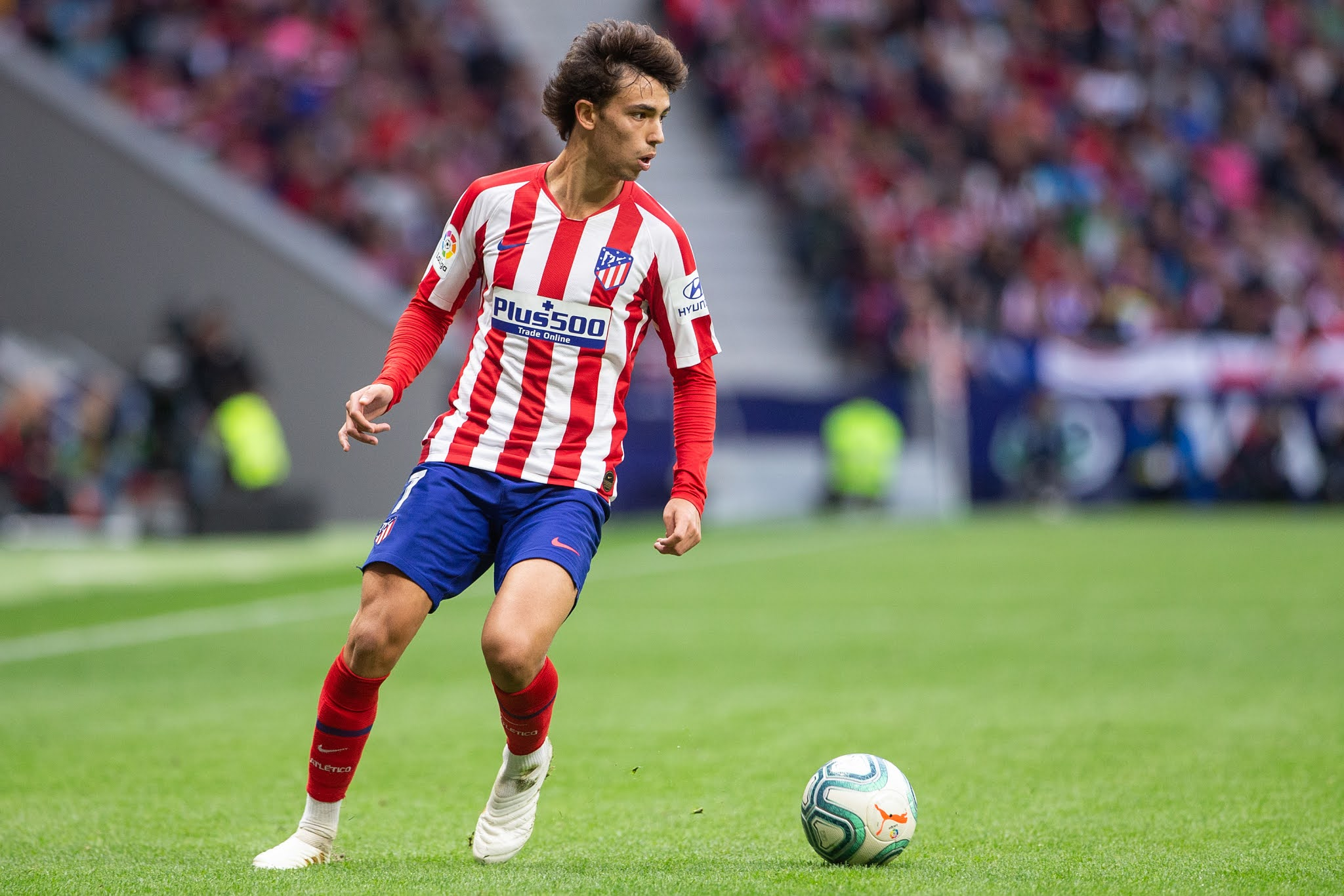 Atletico Madrid's wonderkid Joao Felix will have to step up in the absence of Luis Suarez