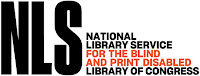 National Library Service for the Blind and Print Disabled NLS logo
