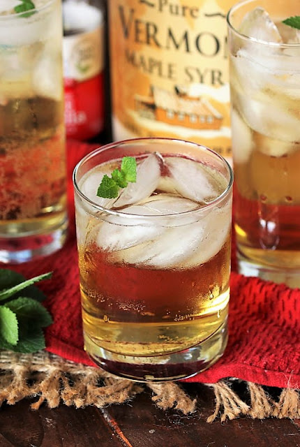 Glass of Mock Cream Soda Image