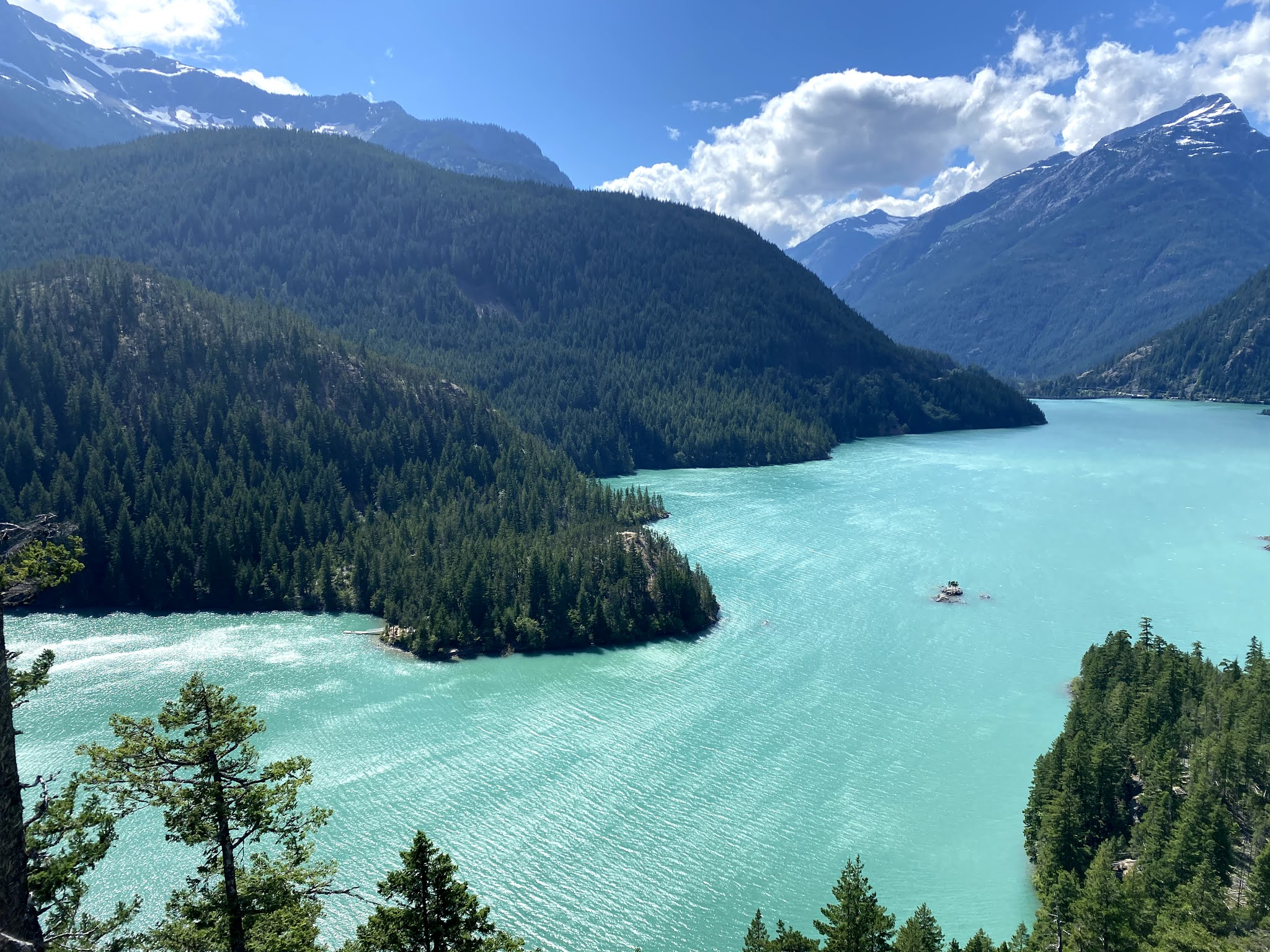 Diablo Lake, Washington | biblio-style.com