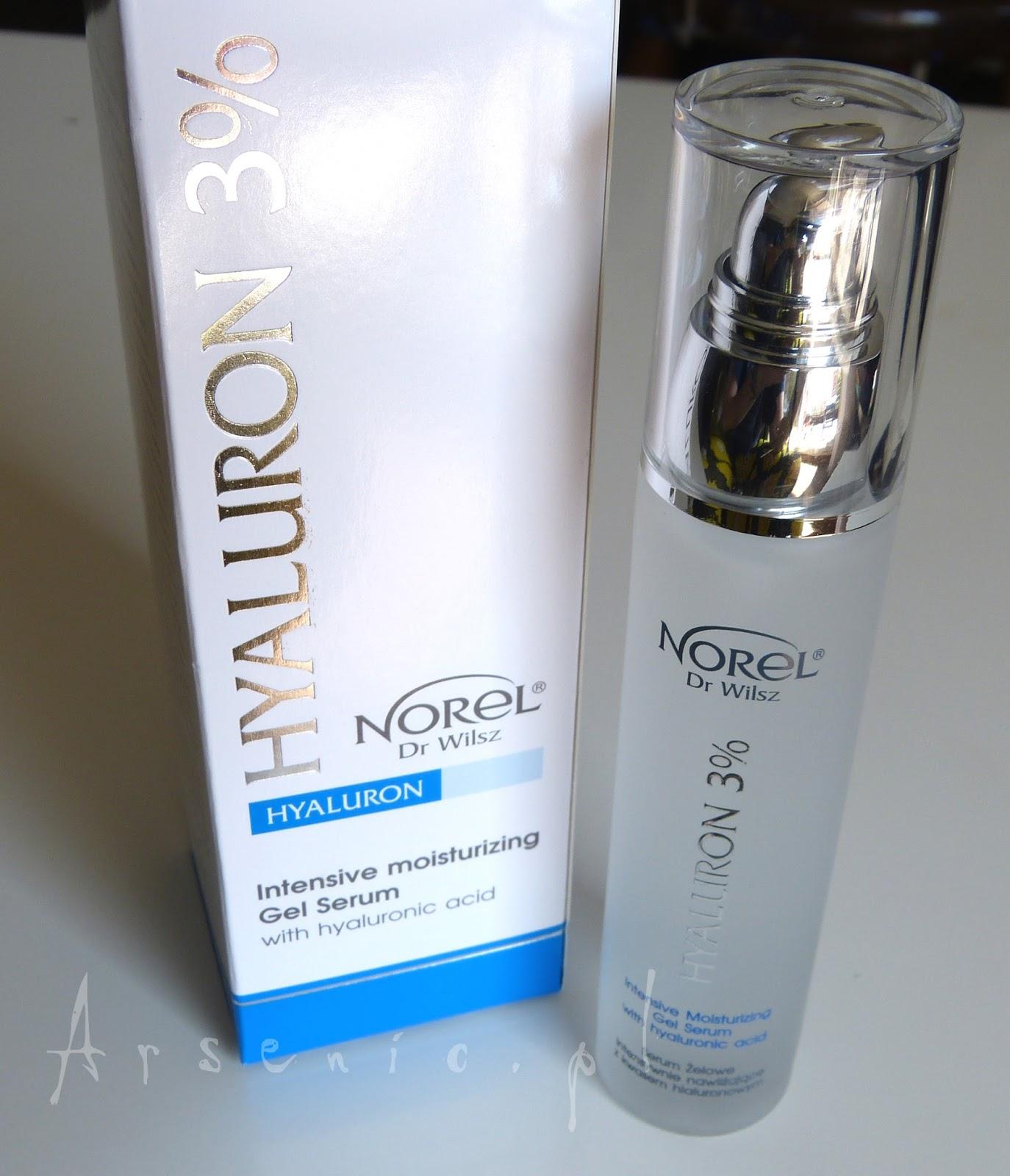 Norel intensywnie nawilżające serum z kwasem hialuronowym