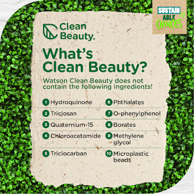 Clean Beauty - Watsons Sustainable Choices
