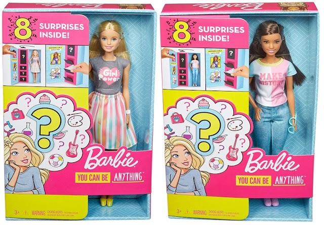 Куклы Барби профессии с сюрпризом: новые игрушки 2019 для девочек