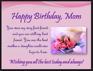 Happy Birthday Wishes For New Mom