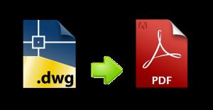 merubah file dwg ke pdf