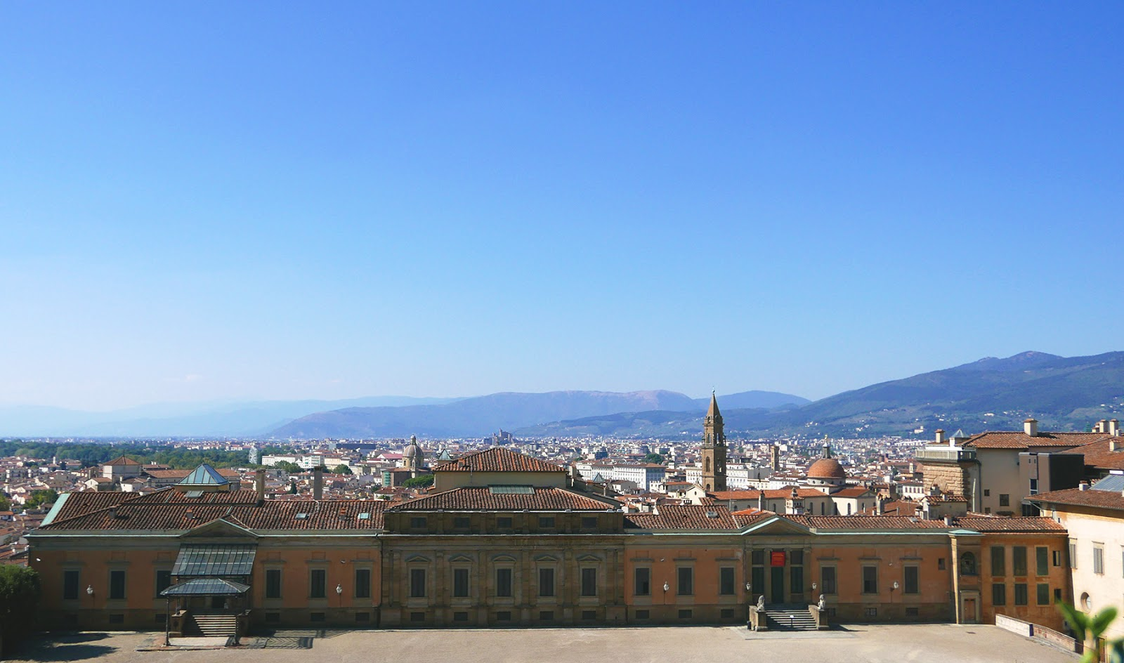 Euriental | luxury travel & style | view from Boboli Gardens, Florence, Italy