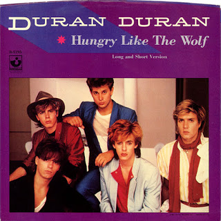 Duran Duran - Hungry Like the Wolf okładka singla