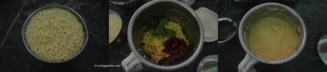 Step 1 - Moong Dal Dosa Recipe | Instant Moong Dal Dosa | Pasi Parupu Dosai
