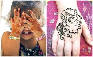 Stunning Kids Mehndi Designs 2020