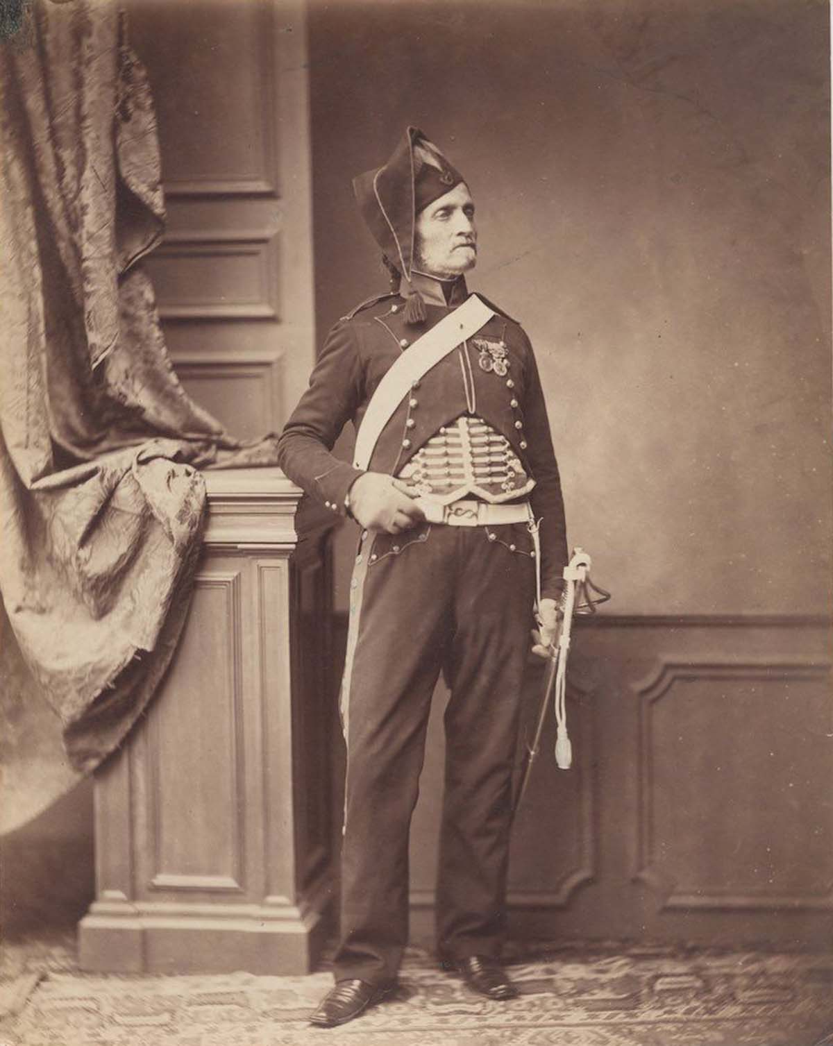 Monsieur Schmit of the 2nd Mounted Chasseur Regiment.