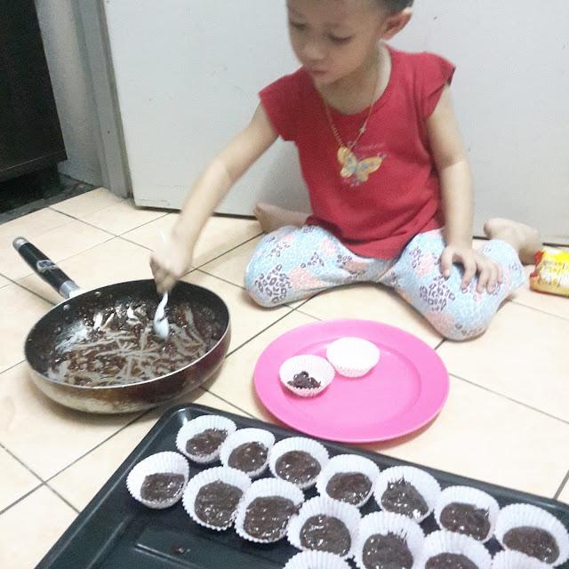 Resepi Mudah Cookies Nutella Tak Perlu di Bakar