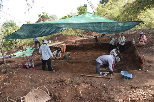 Ancient iron smelter furnace unearthed in Cambodia